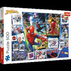 Puzzle - Plakaty z superbohaterem - 500 el. Multi-Colored