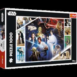 Puzzle - W odległej galaktyce - Star Wars - 1000 el. Multi-Colored
