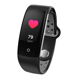 Q6 Bluetooth Fitness Tracker Black
