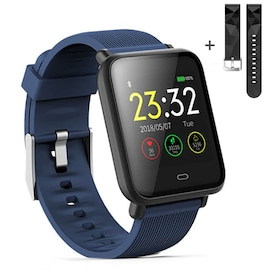 Q9 Waterproof Smart Watch for Android / iOS with Heart Rate Monitor & Blood Pressure Functions