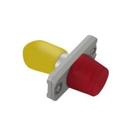 Qoltec Hybrid Fiber Optic FC/UPC-ST/UPC Adapter