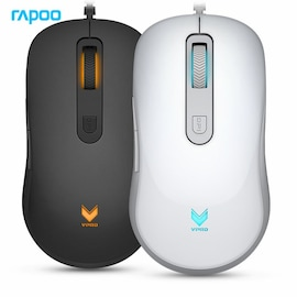 Rapoo V16 Professional USB Wired Gaming Mouse 6 Buttons 2000DPI White