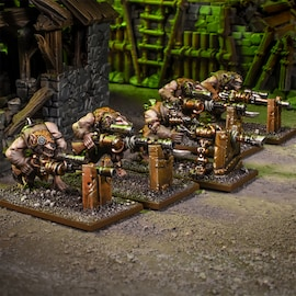 Ratkin Clawshots Troop Kings of War 28mm
