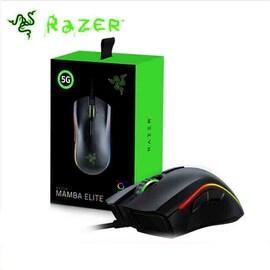 Razer Mamba Elite Edition Gaming Mouse with 5G Optical Sensor and 16,000 DPI Black