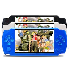 Retro Game Console, Nostalgic Handheld Game Console Came With 3 Colour Blue, Black And White.