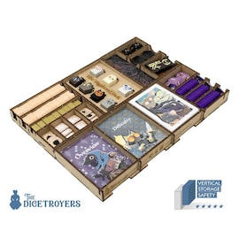 Root All In (base game plus Riverfolk; Underworld; Clockwork; The Exiles and Partisans; Vagabond Pack) Organizer Insert