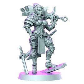 Rose - wojownik, Figurka RPG