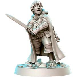 Samyi - niziołek, FigurkaRPG