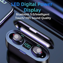 sans fil Bluetooth 5.0 écouteur Black
