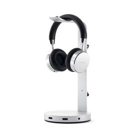 Satechi - Aluminum Usb Headphone Stand - Silver