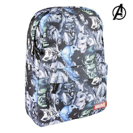School Bag Marvel Black