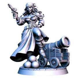 Shelly - piratka, Figurka RPG