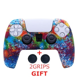 Silicone Cover for DualSense PS5 Controller Colorful Multi-Colored