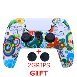 Silicone Cover for DualSense PS5 Controller Graffiti 2 Multi-Color