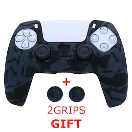 Silicone Cover for DualSense PS5 Controller - Graffiti 3 Black