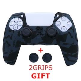 Silicone Cover for DualSense PS5 Controller - Graffiti 3 Black