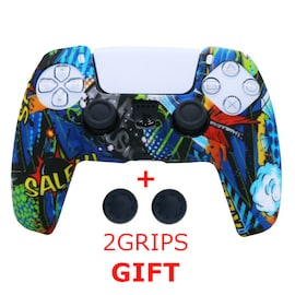 Silicone Cover for DualSense PS5 Controller Graffiti 3 Multi-Color