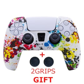 Silicone Cover for DualSense PS5 Controller Graffiti Multi-Colored