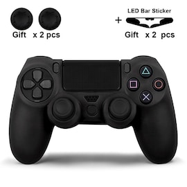 Silicone Cover for Dualshock 4 Controller Playstation 4 + GIFTS Black