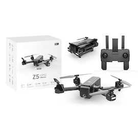 SJRC Z5 RC Drone Quadrocopter - 1080P Camera, GPS, 2.4G Wifi FPV, Follow Me Mode - Black, 2.4G