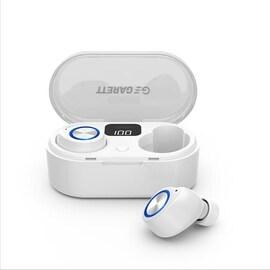 Słuchawki Z Mikrofonem Garett Sound Lite Bezprzewodowe Białe