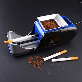 Smallx Household Electric Cigarette Maker Automatic Cigarette Rolling Machine Tobacco Stuffer Weed Injector Smoking Acce Orange
