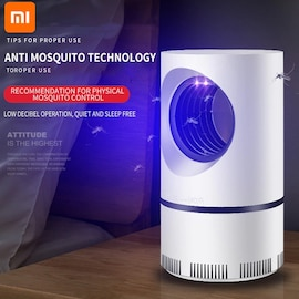 Smart Home Mosquito 2021 Repellent Automatic Photocatalyst Mosquito Killer Mute Blue Mosquito Mosquitos Lamp Bedroom Ins White