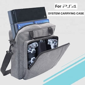 Sony Yoteen Storage Bag for PS4 Slim with Protective Shoudler Travel