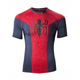 Spiderman - men's sports tee M Multi-colour