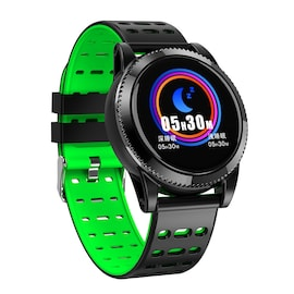 Sports Smart Bracelet - 1.3 Inch IPS Screen, 220mAh Battery, Pedometer, Blood Pressure Monitoring Green