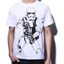 Star Wars - Armed Stormtrooper T-shirt L White