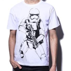 Star Wars - Armed Stormtrooper T-shirt M White