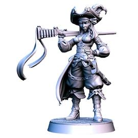 Stella Marissa - piratka, Figurka RPG