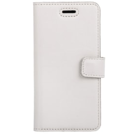 Surazo® Back Case Genuine Leather for phone Huawei P Smart 2021 - Wallet Case - Ornament Brown