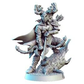 Sureflight - Elf Łowca, Figurka RPG