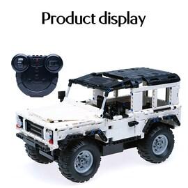 SUV DIY city brick Remote Car