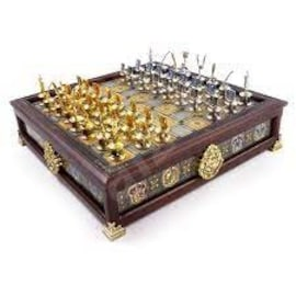 Szachy Harry Potter Hogwarts Houses Quidditch Chess The Noble Collection