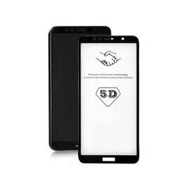 Szkło Hartowane Do Huawei Y6 2018   5D   Czarne