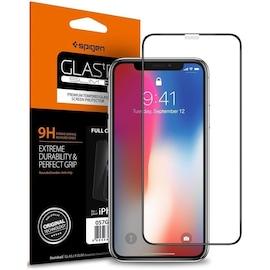SZKŁO HARTOWANE SPIGEN GLASS FC IPHONE X/XS BLACK