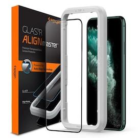 Szkło hartowane Spigen GLAS.tR AlignMaster Apple iPhone 11 Pro Max Black