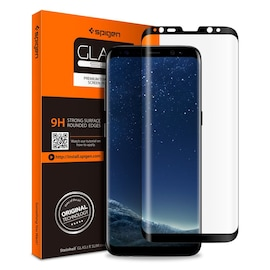 SZKŁO HARTOWANE SPIGEN GLAS.TR CASE FRIENDLY GALAXY S8+ PLUS BLACK