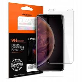 Szkło hartowane Spigen GLAS.tR Slim Case Friendly iPhone 11 Pro Max/XS Max Clear