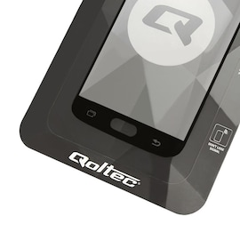 Szkło Ochronne Hartowane Premium Qoltec Do Samsung Galaxy S9 | Czarne