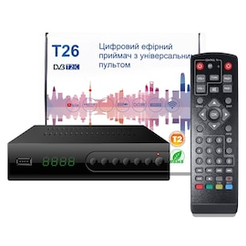 T26 DVB T2 C Smart TV Box Full HD 1080P STB HDTV H.264 TV Digital Terrestrial Receiver EU PLUG