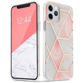 """TECH-PROTECT MARBLE """"2"""" IPHONE 12 MINI PINK"""