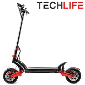 Techlife X7 Electric scooter Black/Red 18000 mAh
