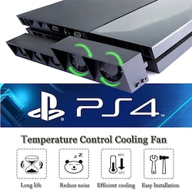 Temperature Control Cooler For PS4 5-Fan Playstation