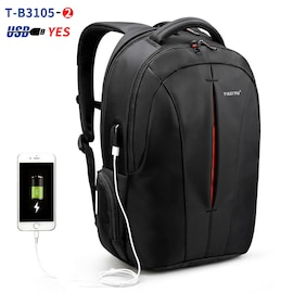 TSA Anti-theft laptop backpack Tigernu splash resistant 15.6 inch keyless | T-B3105-2 | Free Shipment