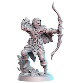 Turandur - Elf, Figurka RPG