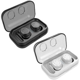 TWS IPX5 Touch Control Bluetooth 5.0 Earphones with Charger Box White